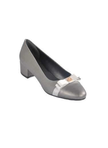 Maje 6344 Platin Kadın Topuklu Ayakkabı Gümüş